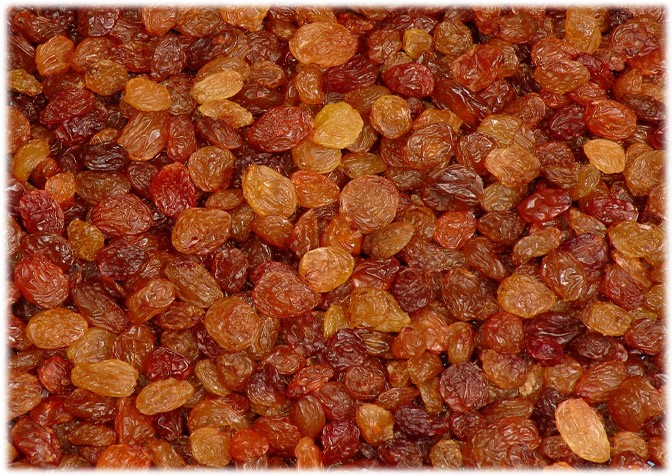 Sultaniye üzümlerimizin son hali.